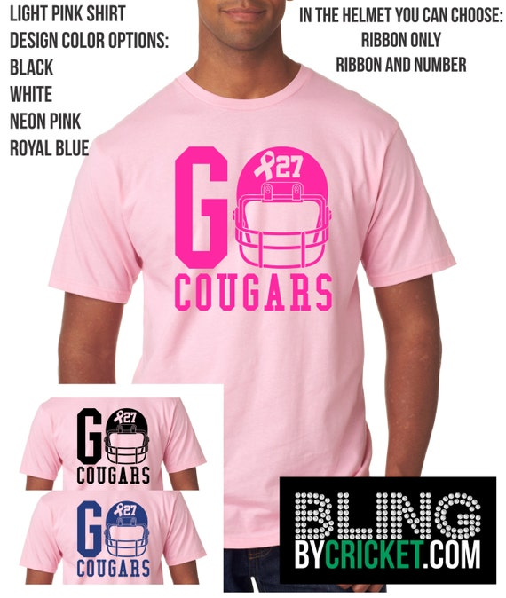 Breast cancer awareness shirt breast cancer awareness for Breast cancer nfl shirts
