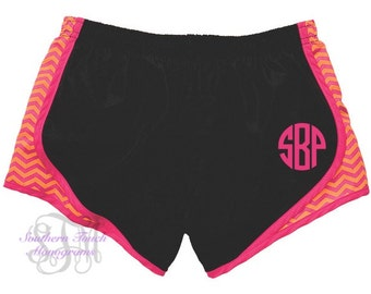 Monogrammed Athletic Shorts
