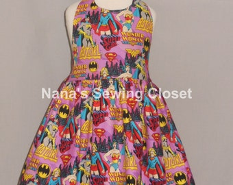 Super Hero Halter Style Dress