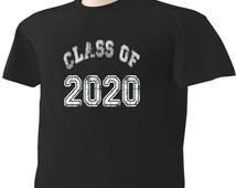Class Of 2020 T-Shirt Graduation Gift