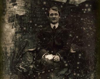 Victorian Shaman - Original Steampunk Inspired Altered Victorian Art Photographic Art Print - Theatre Bizarre Series
