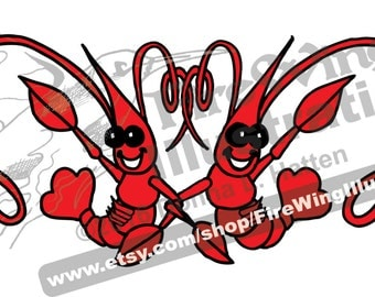 Crawfish Motif