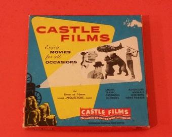 Castle Films 8mm, Boy Meets Dog