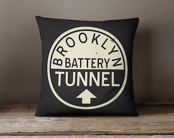 New york pillow cover, new york city pillow,new york cushion,brooklyn pillow,New York pillow ,NYC,throw pillow,decorative pillow,pillow