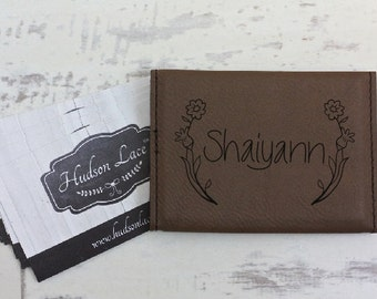 Personalized Business Card Holder, Custom Women's Business Card Holder, Engraved Business Card Holder, Business Card holders