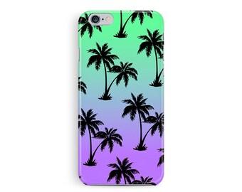 Palm Tree iPhone 6 Plus Case, Sunset iPhone 6 Plus Case, iPhone 6 Plus Case, Hawaii Cell Case, Tropical Phone Case, Surfer 6 Plus case