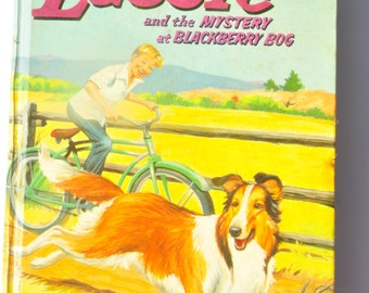 Lassie. Retro Television. Lassie and the Mystery at Blackberry Bog. Dorothea J. Snow. Ken Sawyer. Adventures of Lassie. Television. Retro.