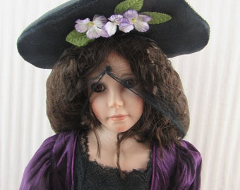Rachel by Karen McDonald Porcelain Doll, Limited Edition World Gallery Dolls