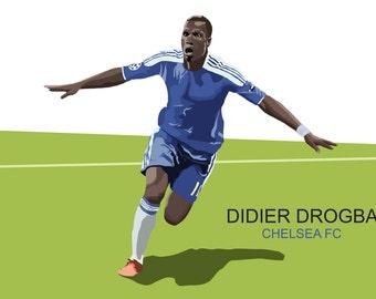 Drogba poster