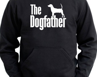 The dogfather North Country Beagle Hoodie