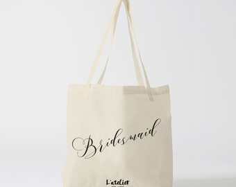 Tote bag bridesmaid, bag canvas, cotton bag, canvas bag, tote bag, purse, bag offer, current bag, shopping bag, quote