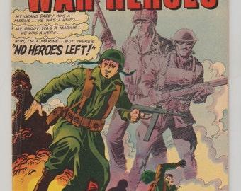 Marine War Heroes; Vol 1, 15 Silver Age Comic Book. FN-. August 1966.  Charlton Comics