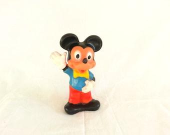 Vintage Mickey Mouse figure