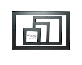 black picture frames 4x4 4x6 5x5 5x7 6x6 7x7 8x10 85x115 8x12 9x9 11x11 12x12 12x16 13x13 14x14 15x15 16x10 20x30 request your size b02