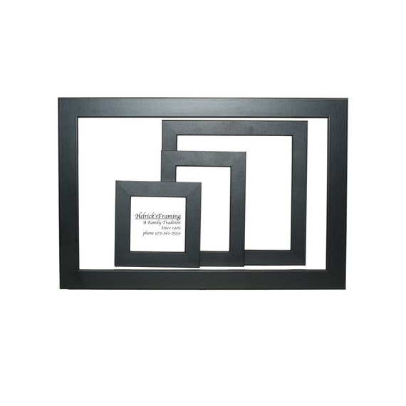 black picture frames 4x4 4x6 5x5 5x7 6x6 7x7 8x10 85x115 8x12 9x9
