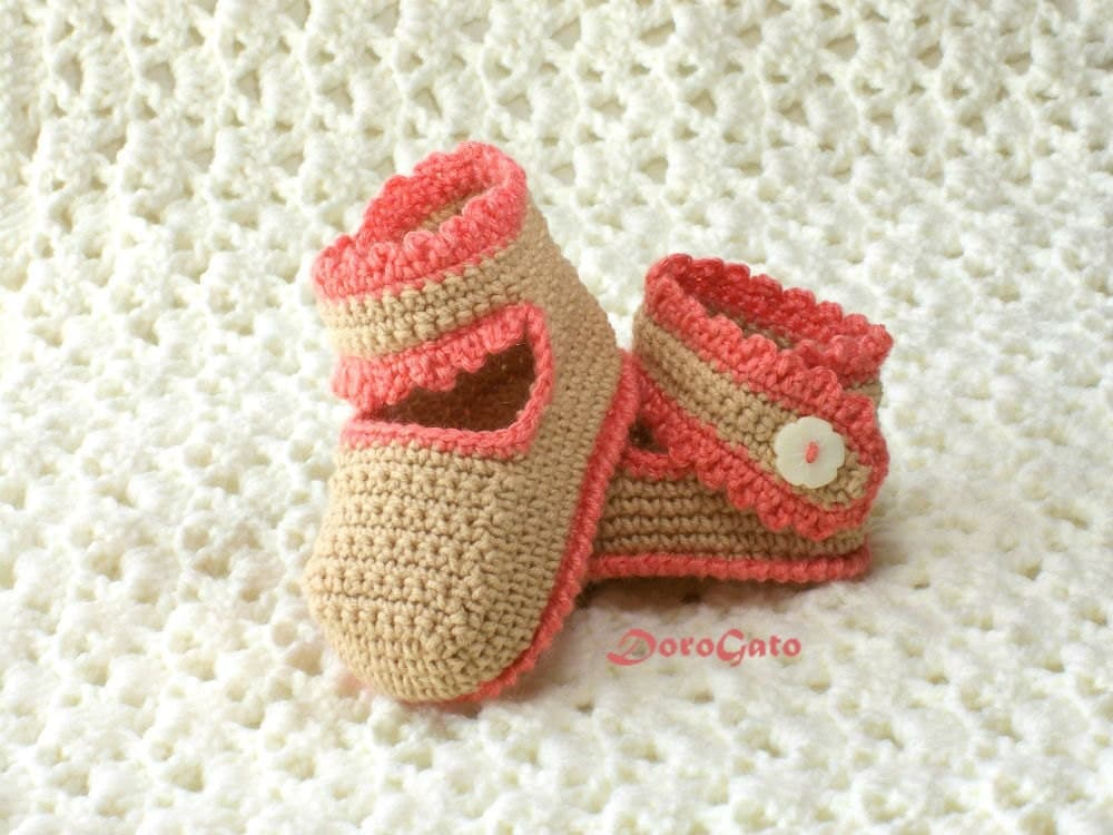 Baby Shoes Tutorial Crochet