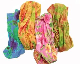 Hibiscus Head Wrap
