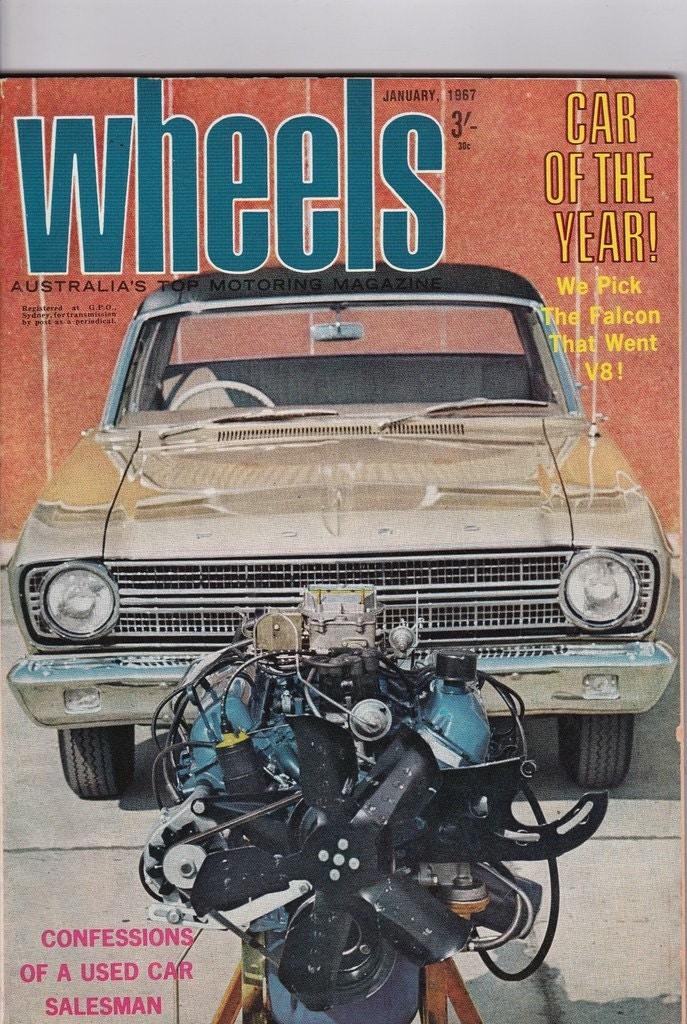 WHEELS MAGAZINE JANUARY 1971, ROVER V8,NEW MINIS,CAPELLA,HUSTLER,XY FALCONS