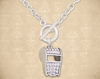 Coach Whistle Toggle Necklace