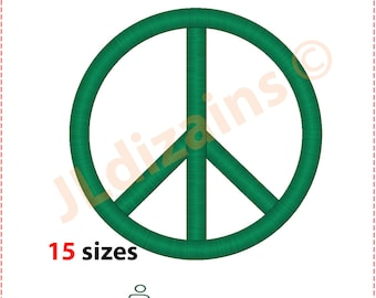 Peace Embroidery Design. Peace sign embroidery design. Peace symbol embroidery. Embroidery peace. Machine embroidery design