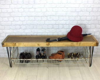 Charmant Pictures Of Vintage Shoe Storage Bench