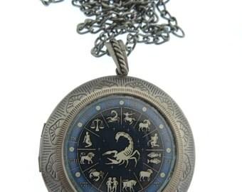Scorpio Locket, Astrology Locket, Necklace, Scorpio Necklace, Scorpio Jewellery, Locket, scorpion, Jewelry, Star Sign, Jewellery, Jewelry