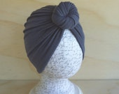 Stone Gray Rose Knot