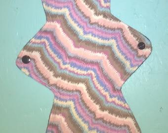12 inch multi color cloth pad