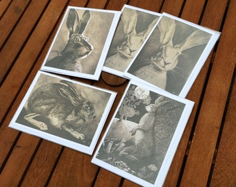 Where The Wild Things Are Drawn - Hare designs 5 x card set