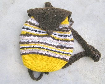 Tapestry crochet pattern, mini Mochila bag pattern ...