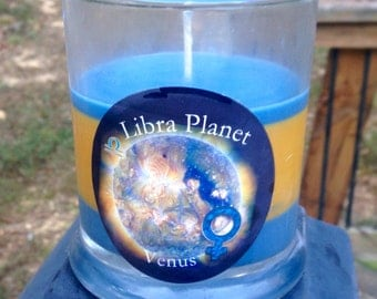 Virgo Ruling Planet Mercury Astrology Candle by ...