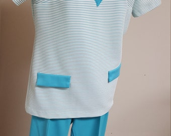 Queensway to Fashion Pant & Top Set Vintage