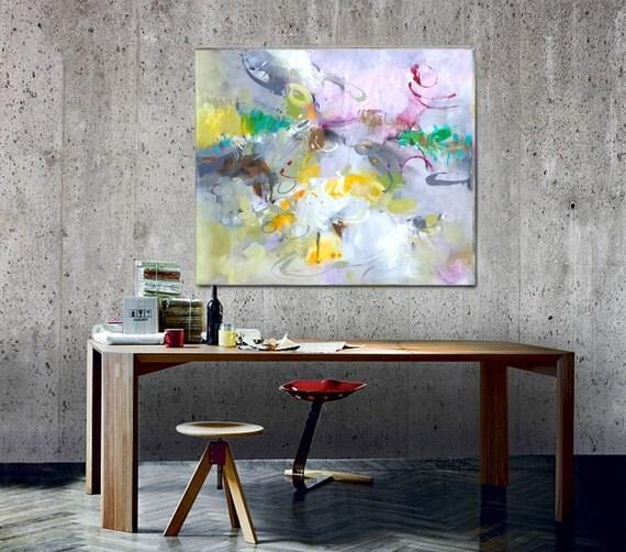 Large Wall Art Canvas Original Abstract Acrylic Painting Modern Art