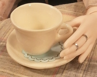 1/3 Scale Cup and Saucer for SD BJD - Classic