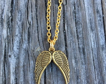 Angel Wings Necklace.   GC0139