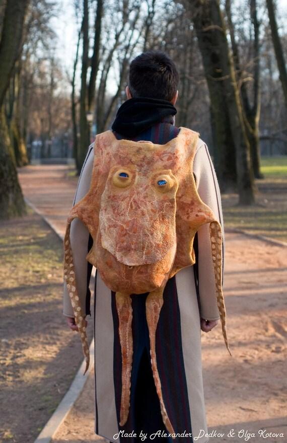 """Backpack """"Octopus George"""""""