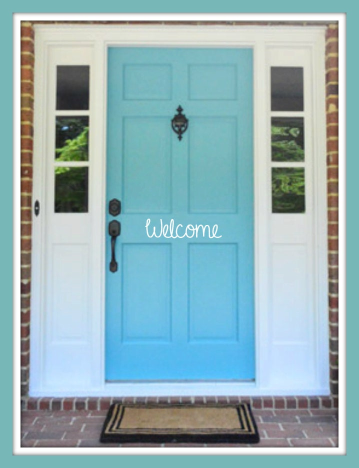 Door Decal Welcome Decal Welcome Vinyl Decal Vinyl Decal Door Decals Door Vinyl Decals Custom Decals Personalized Decals & Door Decal Welcome Decal Welcome Vinyl Decal Vinyl Decal Door ... pezcame.com