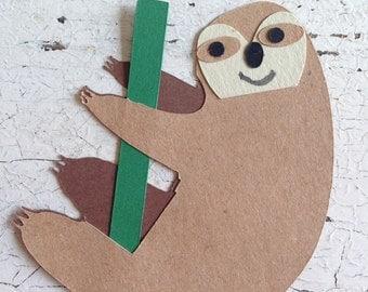 Sloth Party Picks   Set of 12
