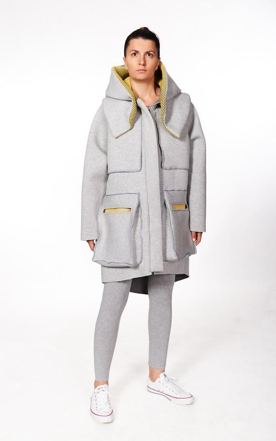 Winter Coat Long Hoodie Jacket Womens Coat Oversized Coat