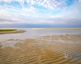 New England Seascape ~ Chapin Beach,Dennis, Cape Cod, Beach Photography, Sunset, Coastal Home Decor, Nautical, Wall Art, Ocean, Artwork