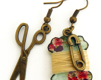 seamstress's earrings