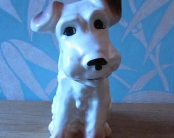 1930s Sylvac-style porcelain terrier