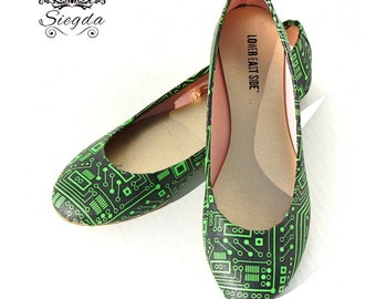 Circuit Board Shoes- Choose Your Style