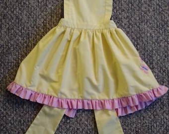 Child's Fluttershy My Little Pony Inspired Pinafore Apron