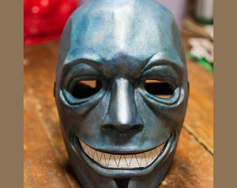 inspired of Vergil cosplay DMC Devil May Cry mask the game fan art