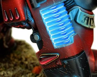 Plasma Pistol Space marine warhammer 40000 - replica resin polyurethane - Polyurethane resin replica