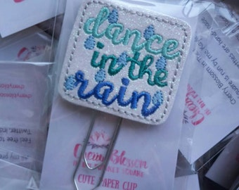 Dance In The Rain Paper Clip Inspiration