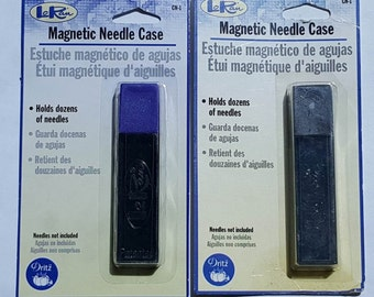 Magnetic Needle Case, Snap Top, Magnetic back, Dritz LoRan, BT5140