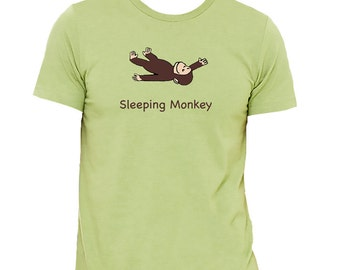 Sleeping Monkey - Men's Tees - New for Summer Tour 2016