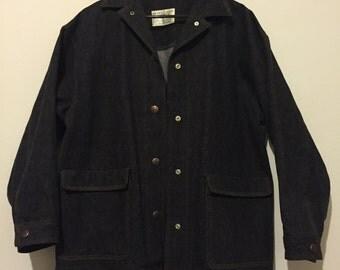 Classic 50s 60s Prison Perry Ellis Jean Original Sample Jacket